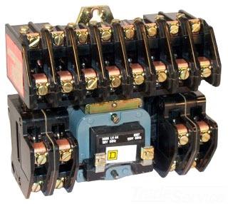 Square D 8903LG40V81F4T 30A LTG CNCTR