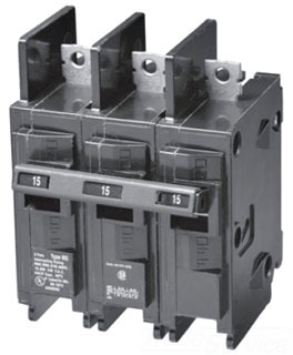 Siemens BQ3B050 3P 50A 240V CB