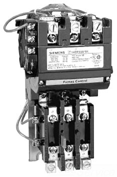 Siemens 14BP121F81 3PH N-REV STARTER
