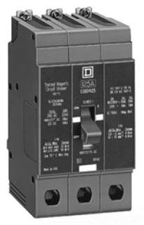 Square D EGB36070 600V 70A MINI CKT BRKR