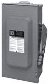 Square D HU367R 3P 600V 800A SFTY SW