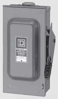 Square D HU365REI2 400A SAFETY SWITCH