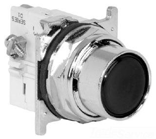 Cutler Hammer 10250T106-1C FLUSH MOM BLU PB