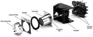 Cutler Hammer 10250T727RL 30.5MM ASSM SSW