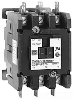 Cutler Hammer C25DND330AH 3P 30A 120V CONTCTR