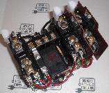 Allen Bradley 509TOT Size 00 3 Phase 240V 50Hz 9 Amps Max Open Starter