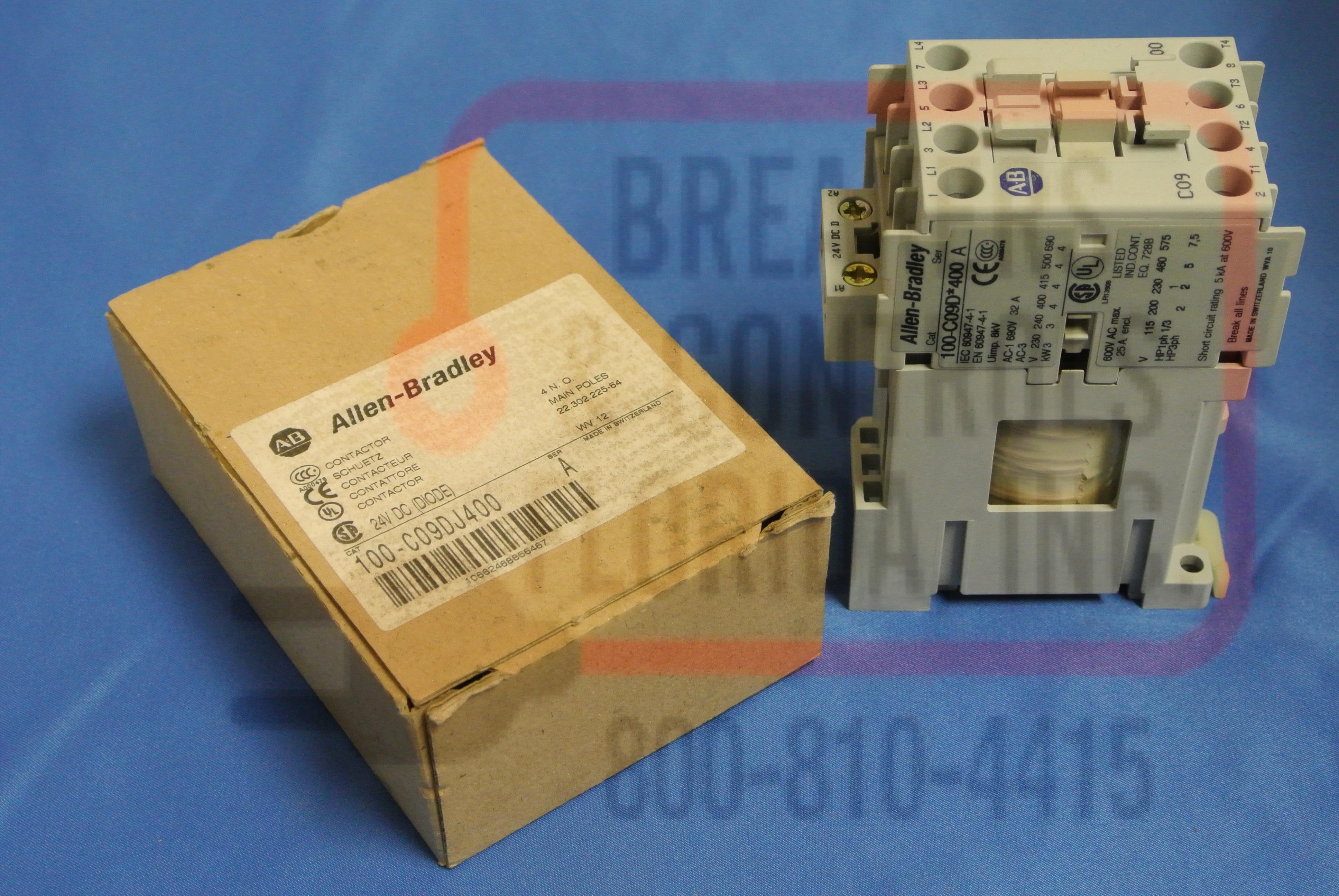 Allen Bradley 100C09DJ4001 Motor Control Contactor
