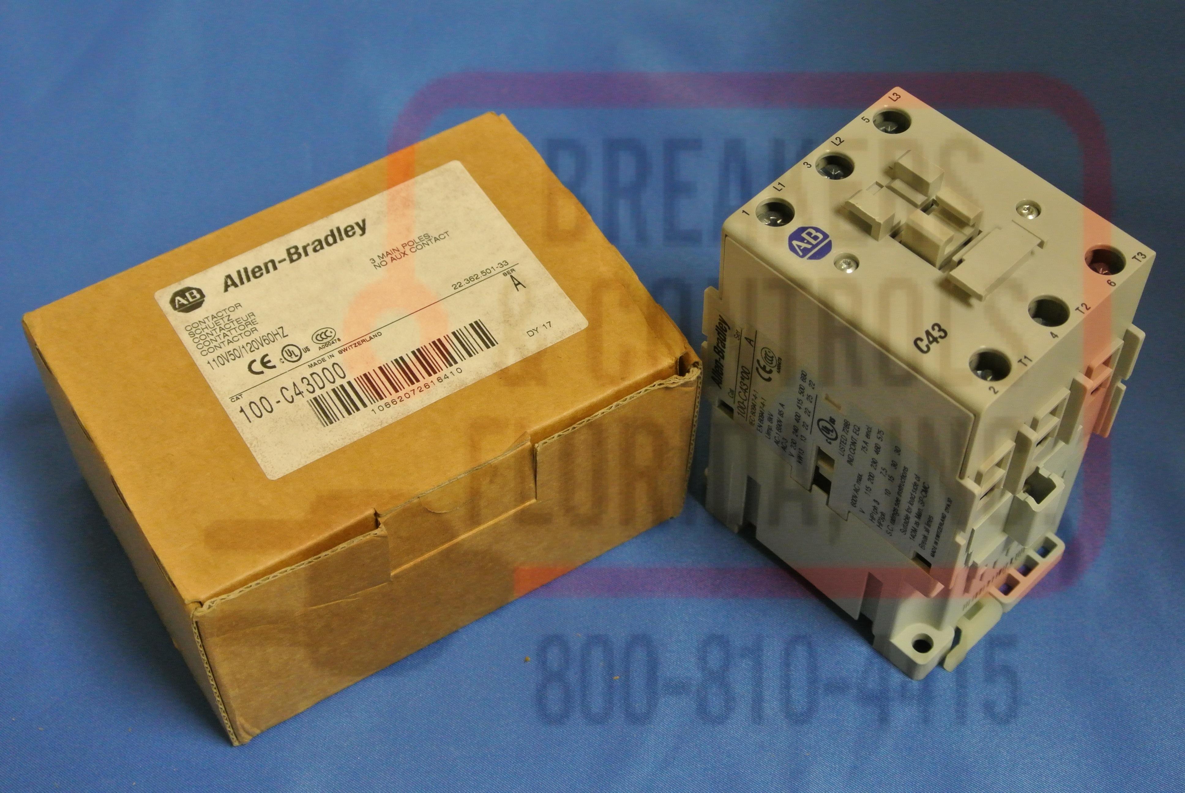 Allen Bradley - 100-C43D00
