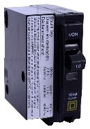 Square D QO1201021 Circuit Breaker